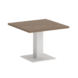 Стол журнальный квадратный ONIX VR.SP-5-60.2G Дуб Аризона/Белый