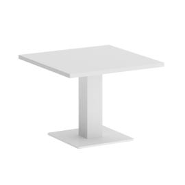 Стол журнальный квадратный ONIX VR.SP-5-60.2G Белый бриллиант/Белый