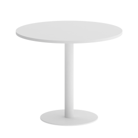 Стол круглый ONIX VR.SP-5-90.1 Белый бриллиант/ Белый