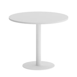 Стол круглый  VR.SP-5-90.1 Белый/Белый