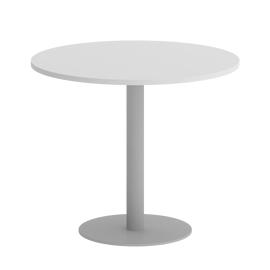 Стол круглый  VR.SP-5-90.1 Белый/Серый
