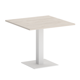 Стол квадратный ONIX VR.SP-5-90.2 Денвер Светлый/Белый