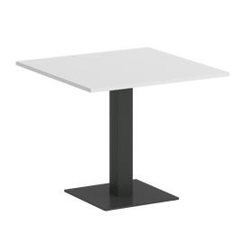 Стол квадратный ONIX VR.SP-5-90.2 Белый бриллиант/Антрацит