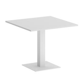 Стол квадратный  VR.SP-5-90.2 Белый/Белый