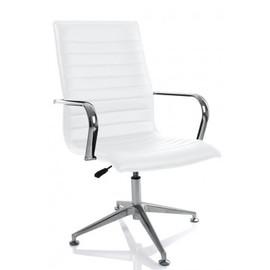 Офисное кресло для посетителей Aim Vi base (C2W) белый