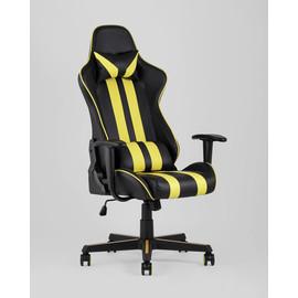 Кресло игровое TopChairs Camaro желтое Stool Group