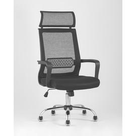 Кресло офисное TopChairs Style черное Stool Group