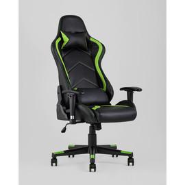 Кресло игровое TopChairs Cayenne зеленое Stool Group