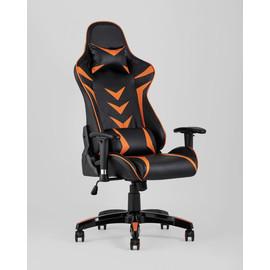 Кресло игровое TopChairs Corvette оранжевое Stool Group