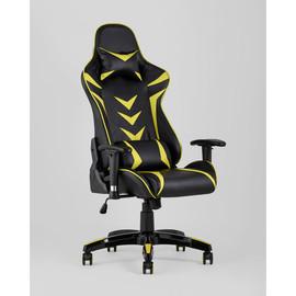 Кресло игровое TopChairs Corvette желтое Stool Group