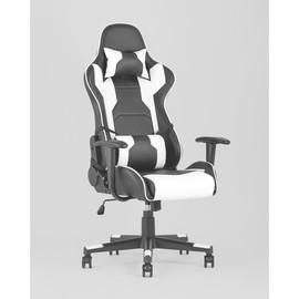 Кресло игровое TopChairs Diablo белое Stool Group