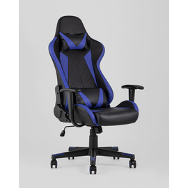 Кресло игровое TopChairs Gallardo синее  Stool Group