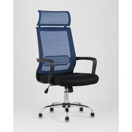 Кресло офисное TopChairs Style голубое Stool Group