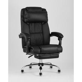 Кресло руководителя TopChairs Royal черное Stool Group