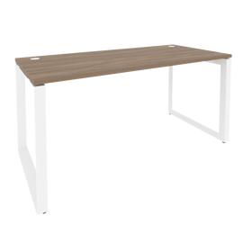 Стол письменный на О-образном металлокаркасе Onix O.MO-SP-4.7 Дуб Аттик/Белый металл 1580x720x750