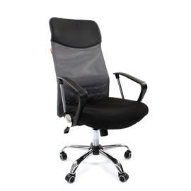 Компьютерное кресло для руководителя Chairman 610 Серый