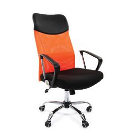 Компьютерное кресло для руководителя Chairman 610 Оранжевый
