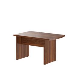 Брифинг-приставка с опорой к столу руководителя В-302.2 Орех Даллас Skyland Born 1300х800х750
