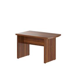 Брифинг-приставка с опорой к столу руководителя В-304.2 Орех Даллас  Skyland Born 1200х700х750