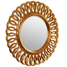 Зеркало настенное в раме Kimberly Gold (Кимберли) Art-zerkalo