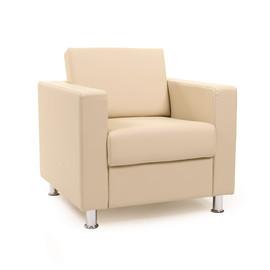 Кресло Chairman Симпл бежевый ( ШхГхВ 820х830х830 )