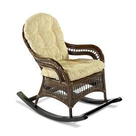 Кресло-качалка KIWI (подушка Ткань шенилл) EcoDesign