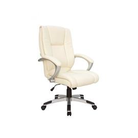 Компьютерное кресло для руководителя Riva Chair 9036 Лотос Бежевый (QC-09)
