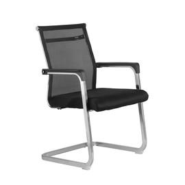Офисное кресло для посетителей Riva Chair 801 E черное