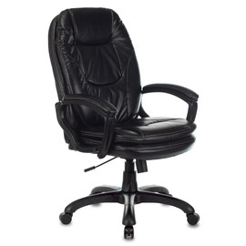 Компьютерное кресло для руководителя Бюрократ CH-868N черный искусственная кожа (пластик черный)