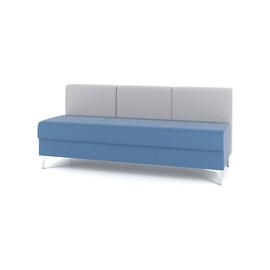 Модуль прямой трехместный M6-3D серии Soft room toForm 1670*700*h740