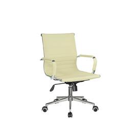 Компьютерное кресло для руководителя Riva Chair 6002-2SЕ Светлый Беж
