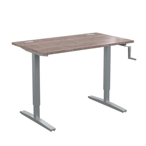 Стол письменный с возможностью регулировки высоты в офис XTUP 127 Дуб Сонома Xten-UP 1200х700х705-1155