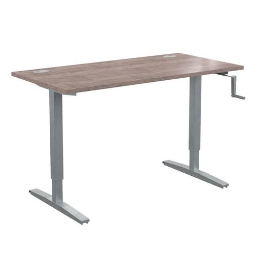 Стол письменный с возможностью регулировки высоты в офис XTUP 147 Дуб Сонома Xten-UP 1400х700х705-1155