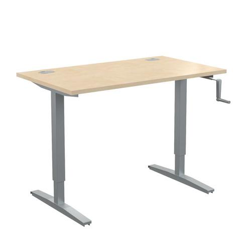 Стол письменный с возможностью регулировки высоты в офис XTUP 127 Бук Тиара Xten-UP 1200х700х705-1155