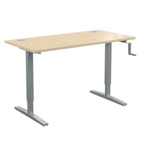 Стол письменный с возможностью регулировки высоты в офис XTUP 147 Бук Тиара Xten-UP 1400х700х705-1155