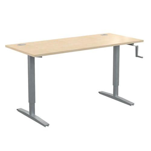 Стол письменный с возможностью регулировки высоты в офис XTUP 167 Бук Тиара Xten-UP 1600х700х705-1155
