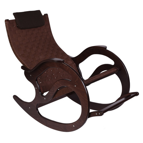 Кресло-качалка  Тенария 2 Темно-коричневый Mebelic
