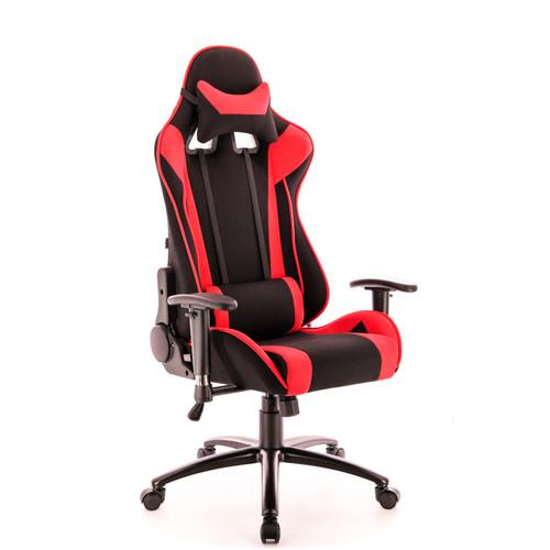 Кресло геймерское Everprof Lotus S4 ткань красная