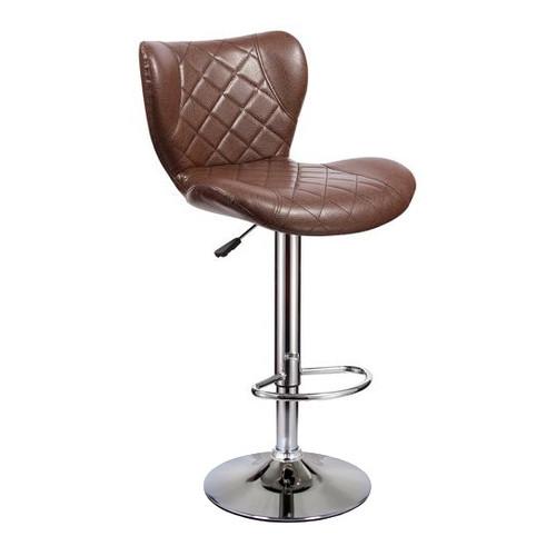 Барный стул Кадиллак WX-005 Экокожа, Коричневый Ecoline