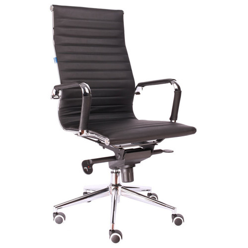 Кресло для руководителя в офис  Everprof Rio M кожа черный