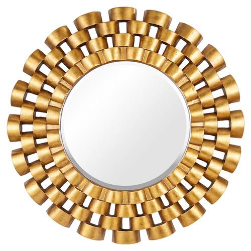 Зеркало в раме модерн Nexus Gold (Нексус)