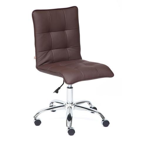 Кресло офисное «Zero» кож/зам, коричневый, 36-36 TetChair