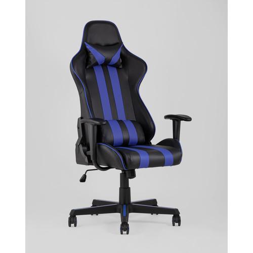 Кресло игровое TopChairs Camaro синее Stool Group