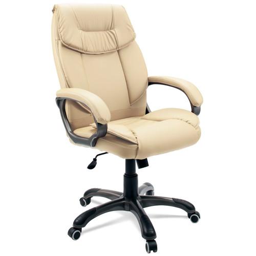 Компьютерное кресло для руководителя Dikline  CS57 Крем