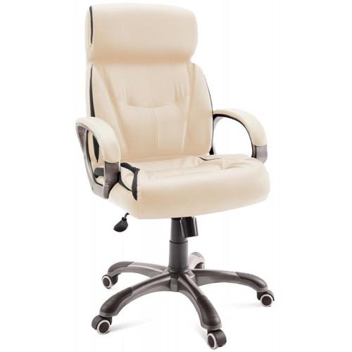 Компьютерное кресло для руководителя Dikline  CS58 Крем