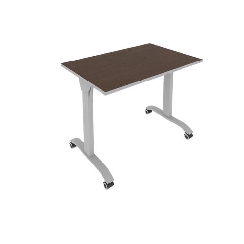 Стол складной мобильный прямой письменный СМ-2 1000*650*757