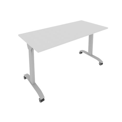 Стол складной мобильный прямой письменный СМ-5 1400*650*757