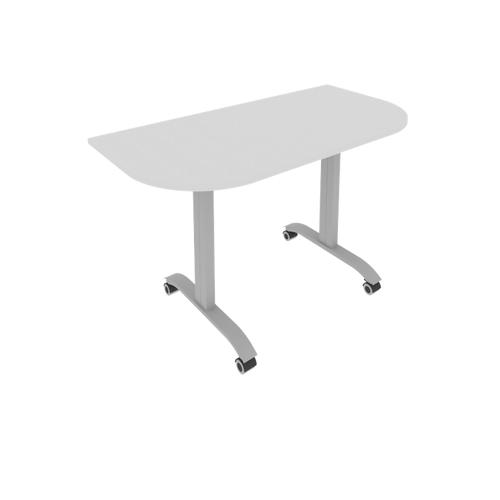Стол радиусный складной мобильный СМ-4.1 1300*650*757