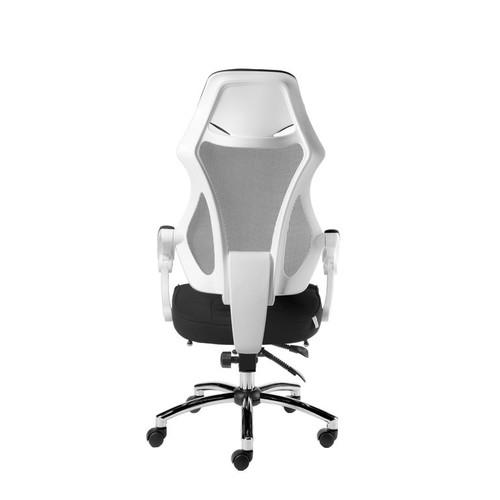 Кресло для руководителя в офис NORDEN 007 Белая сетка