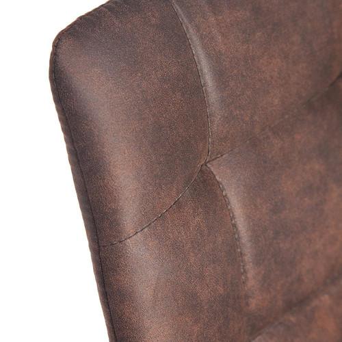 Стул Chilly Темно-коричневый/Черный TetChair